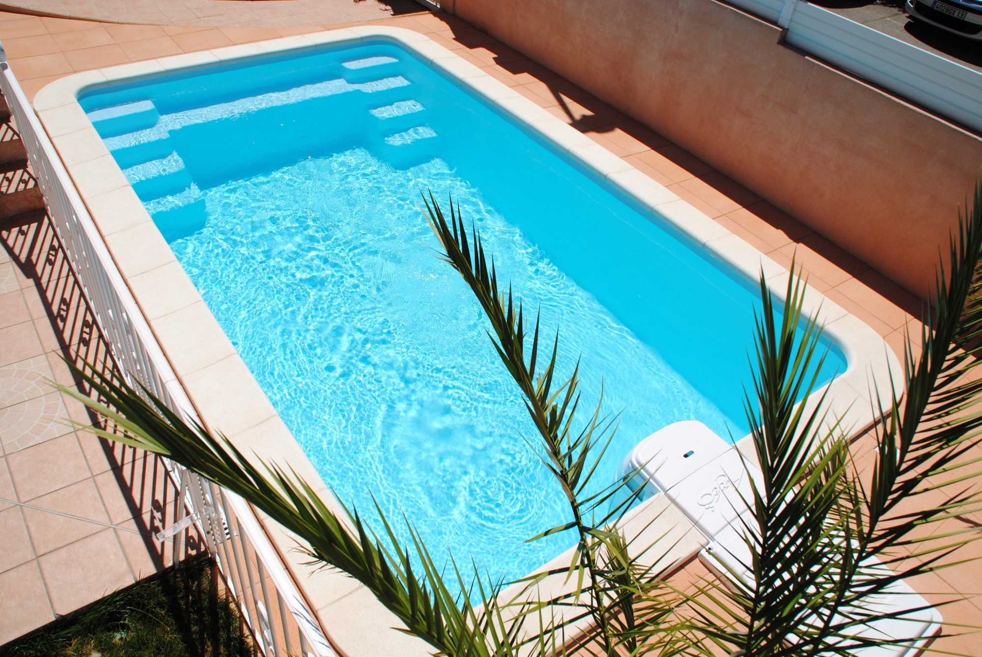 Piscine enterr e coque 6x3 pr te plonger prix for Prix des piscines