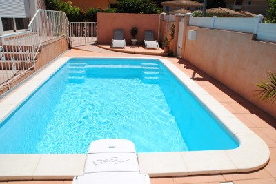 Ax o pose de piscines avec r gulation du ph de l 39 eau for Piscine coque pose comprise